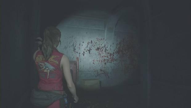 Resident Evil 2 Remake - Claire explora la comisaría