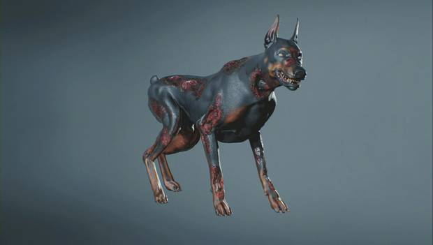 Resident Evil 2 Remake - Perro zombi