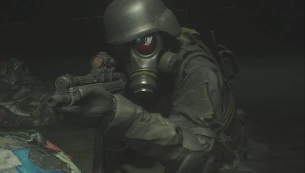 Resident Evil 2 Remake - Hunk