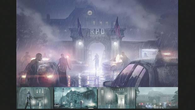 Multitud de Puzles y soluciones en Resident Evil 2 remake