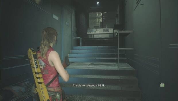 Resident Evil 2 Remake - Claire llega al laboratorio