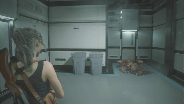 Resident Evil 2 Remake - El Licker del laboratorio