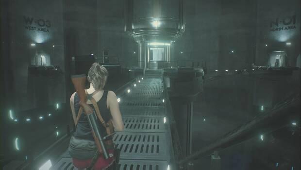 Resident Evil 2 Remake - Vuelta a la sección central