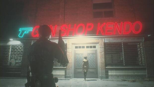 Resident Evil 2 Remake - La tienda de Kendo