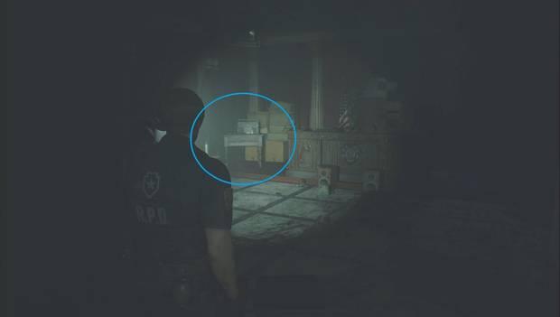 Resident Evil 2 Remake - Hide and seek: Press Center