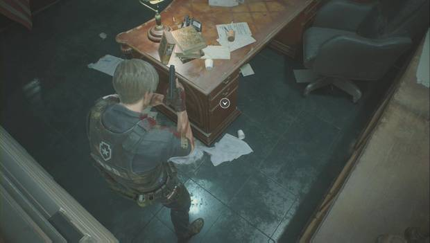 Remake of Resident Evil 2 - Office of the Stars