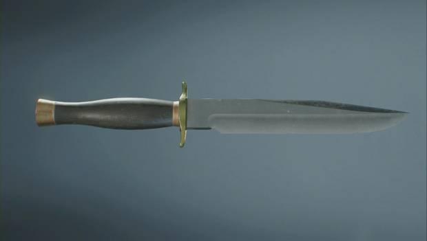 Resident Evil 2 Remake - cuchillo