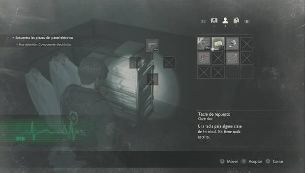 Resident Evil 2 Remake - Tecla de repuesto