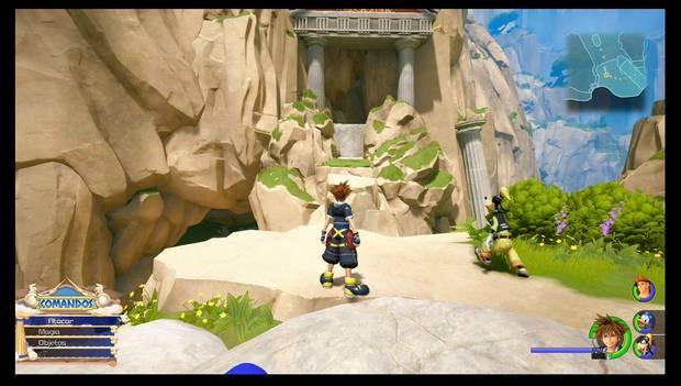 Kingdom Hearts 3 - El Olimpo: el camino oculto