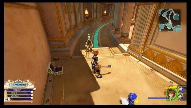 Kingdom Hearts 3 - El Olimpo: cofre con Guijarro de mitrilo