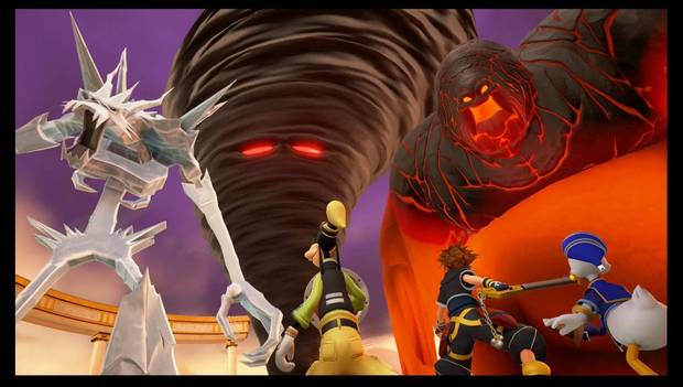 Kingdom Hearts 3 - Jefe Titanes