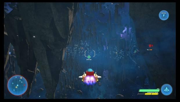 Kingdom Hearts 3 - Dirígete al objetivo con la Nave Gumi