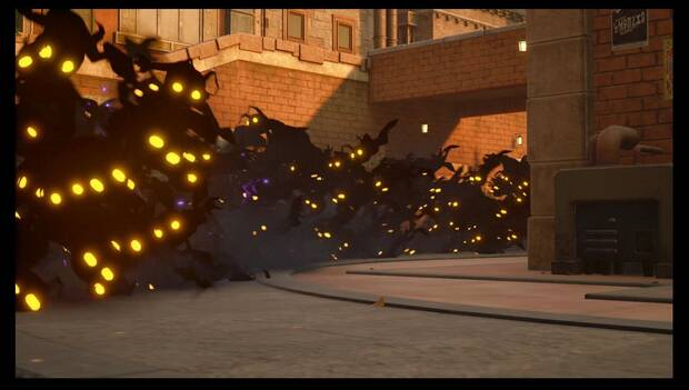 Kingdom Hearts 3 - Torre maldita en Villa Crepúsculo