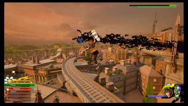 Kingdom Hearts 3 - Villa Crepúsculo: Sora lucha contra la Torre Maldita
