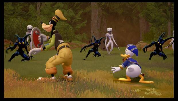 Kingdom Hearts 3 - Incorpóreos y Neosombras
