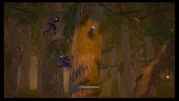 Kingdom Hearts 3 - Villa Crepúsculo: monos Sincorazón