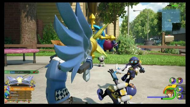 Kingdom Hearts 3 - Caja de juguetes: Flechazo doble