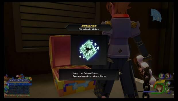 Kingdom hearts 3 - Caja de juguetes: juego El jardín de Mickey