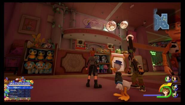 Kingdom Hearts 3 - Caja de juguetes: ubicación del Bastón de mago+