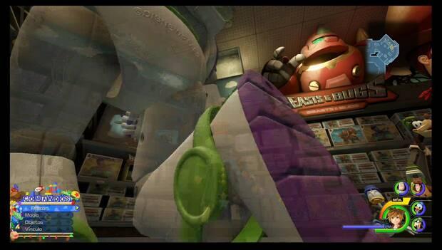 Kingdom Hearts 3 - caja de juguetes: conducto de ventilación de ACTION