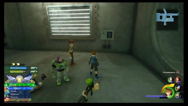 Kingdom Hearts 3 - Caja de juguetes: interruptores del conducto de ventilación