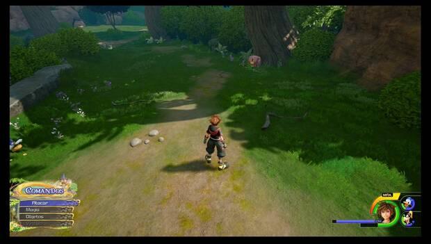 Kingdom Hearts 3 - Reino de Corona: mapa El bosque 1/2