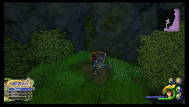 Kingdom Hearts 3 - Reino de Corona: amuleto de bronce