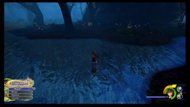 Kingdom Hearts 3 - Reino de Corona: mapa del pantano