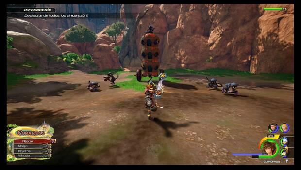 Kingdom Hearts 3 - Reino de Corona: Sincorazón torre