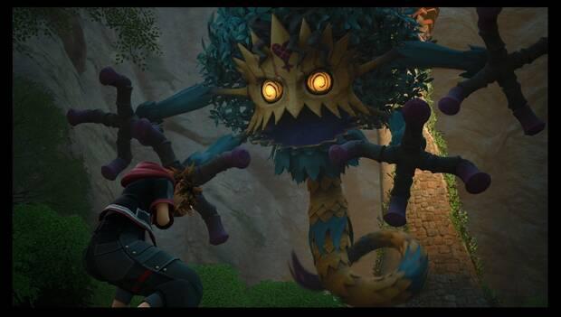 Kingdom Hearts 3 - Reino de Corona: Jefe Madre enloquecida