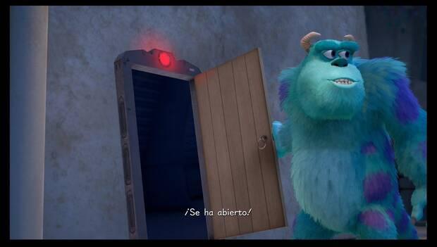 Kingdom Hearts 3 - Monstruópolis: Boo activa la puerta