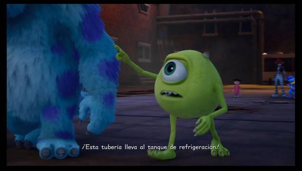 Kingdom Hearts 3 - Monstruópolis: Mike no quiere desviarse más
