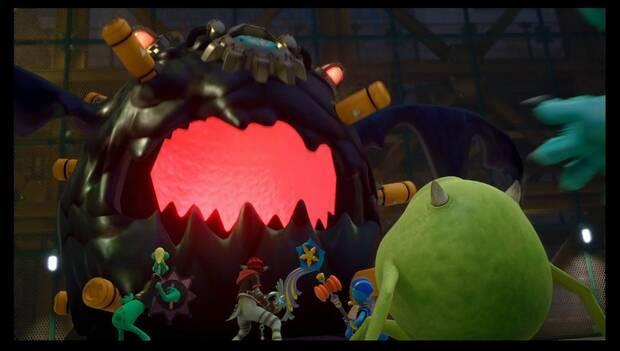 Kingdom Hearts 3 - Monstruópolis - Jefe Masa de terror