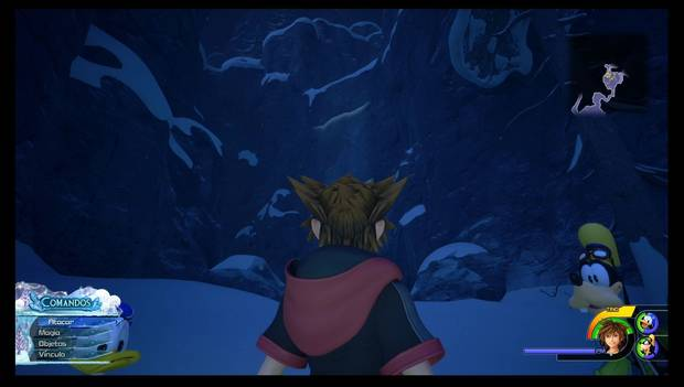 Kingdom Hearts 3 - Arendelle: pared escalable