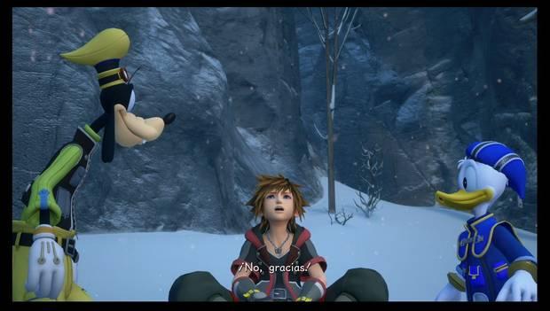 Kingdom Hearts 3 - Arendelle: Sora y sus amigos vuelven a caer