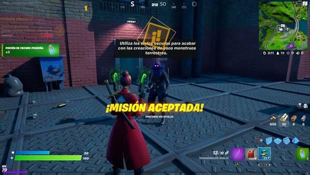 Fortnite - Raven missions: location