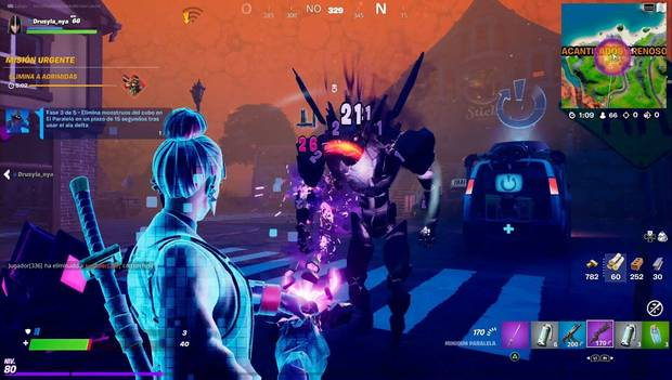 Fortnite - Raven Quests: Cube Monsters Eliminated