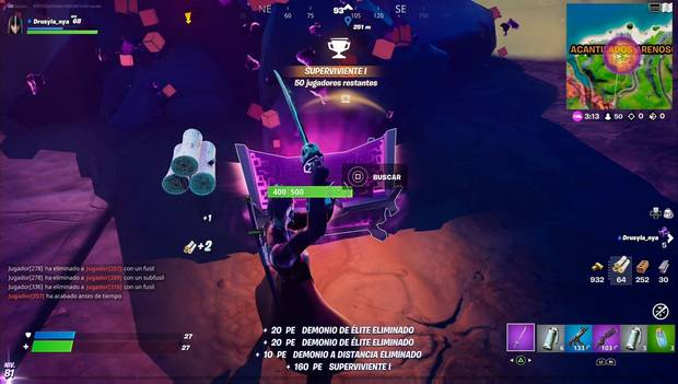 Fortnite - Raven Missions: Chests Destroyed with a Pickaxe