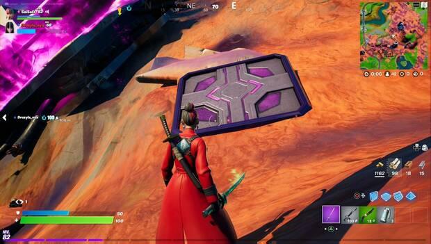 Fortnite - Twilight Hare Missions: Alien Jump Platform