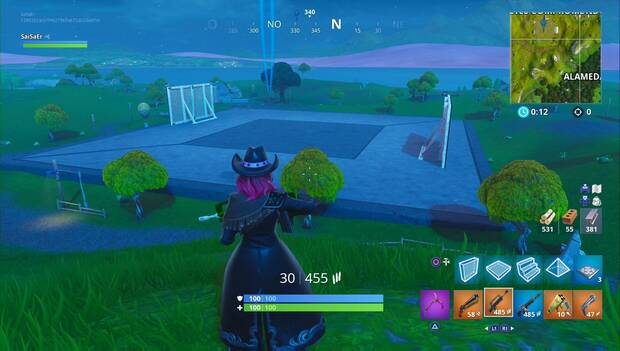 Fortnite Battle Royale - Temporada 7: Carretes comprometidos, zona de Creación