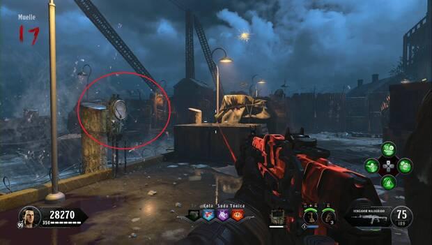 Call of Duty Black Ops 4 Zombies - La sangra de los condenados: activa este poste