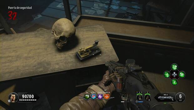 Call of Duty Black Ops 4 Zombies - La sangre de los condenados: la máquina morse