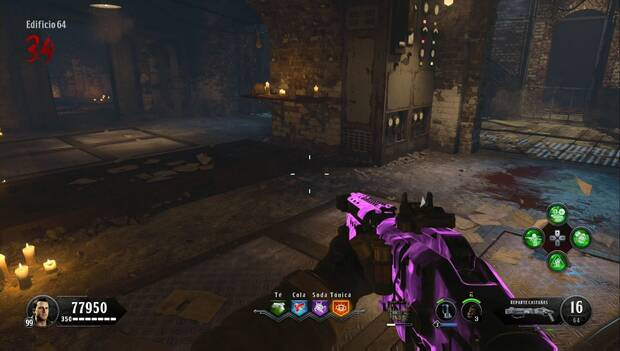 Call of Duty Black Ops 4 Zombies - La sangre de los condenados: tarjeta