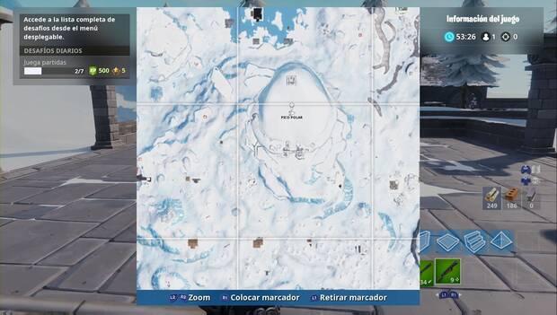 Fortnite Battle Royale - Localización del Pico Polar