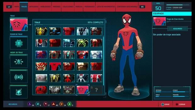 Marvel's Spider-Man - Trajes: Traje de Clan Araña