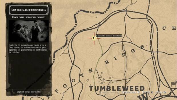 Red Dead Online - Honor entre ladrones: misión principal