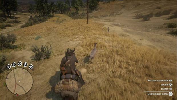 Red Dead Redemption 2 - Cazar animales sin disparar