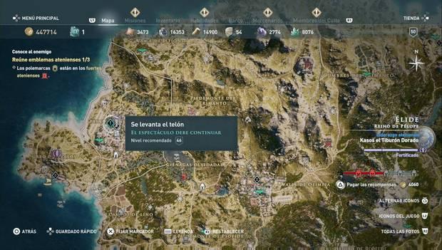Assassin's Creed Odyssey - Historias perdidas: El espectáculo debe continuar