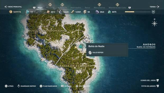 Assassin's Creed Odyssey - Historias perdidas: El portador del rayo (Estéropes)
