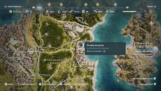 Assassin's Creed Odyssey - Historias perdidas: Intervención divina (Prueba de juicio)